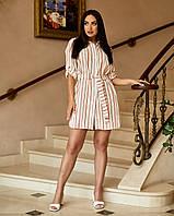Жіноче плаття з рукавом три чверті, фото 1