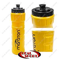 Бутылка для воды спортивная пластиковая Maraton SFB1