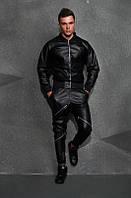Мужской кожаный костюм е496, фото 1