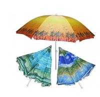 Пляжный зонт Пальма 100M 2 м, спицы системы ромашка, с наклоном и напылением
