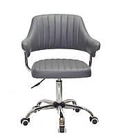 Кресло офисное JEFF CH- OFFICE эко кожа ,серый B-1001
