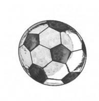 Скайс  біле золото, футбольний мяч