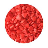 """Посыпка """"Сердечки красные"""", 50 гр."""