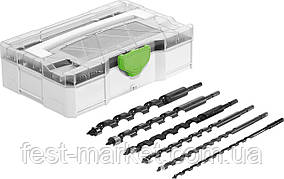 Набор спиральных буров SB CE/6-Set Festool 205902