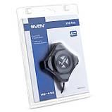 USB-хаб SVEN HB-401 черный, фото 4