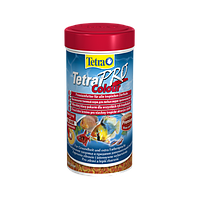 Корм для аквариумных рыб Tetra PRO Colour 100 мл корм для улучшения окраса любых видов тропических рыб