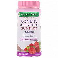 Nature's Bounty, Женские мультивитамины со вкусом малины, 80 жев. конфет