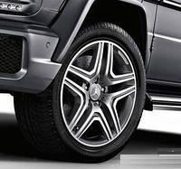 Титановые диски AMG на Mercedes-Benz G463, фото 1