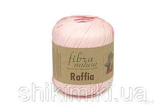 Пряжа Raffia Fibranatura, цвет Розовый