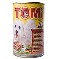 Консервы для собак TOMi 3 ВИДА ПТИЦЫ (3 kinds of poultry), банка  1,2 кг
