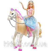 Лялька Барбі і танцююча кінь Barbie Princess & Horse Mattel GML79