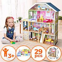 Кукольный домик.Домик кукольный с мебелью.Будиночок для ляльки,лялькові будиночки.