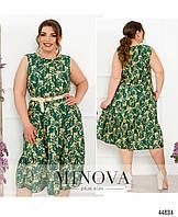 Сукня №2255-зелений зелений/46-48