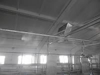 Охлаждение воздуха в помещениях для животных