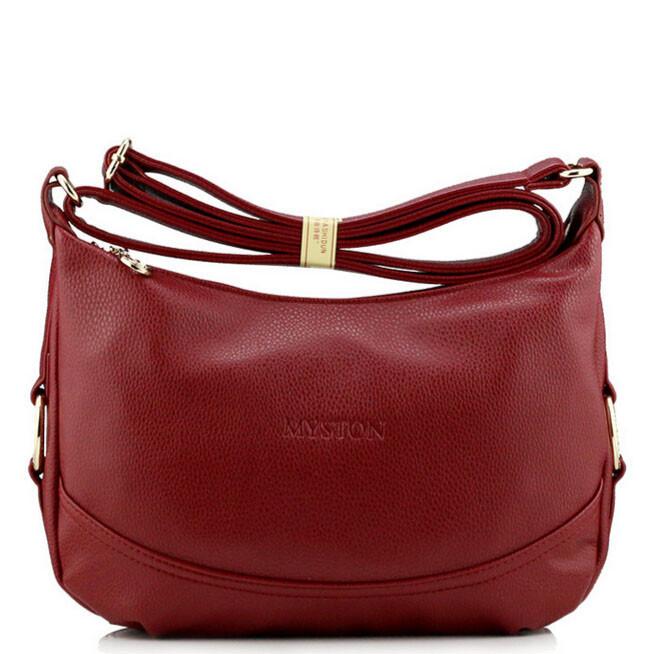 Женская кожаная сумка. Модель 457