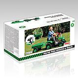 Трактор на педалях DOLU з причепом 8053 зелений, фото 5