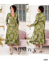Платье №2243-оливковый оливковый/46-48, фото 1