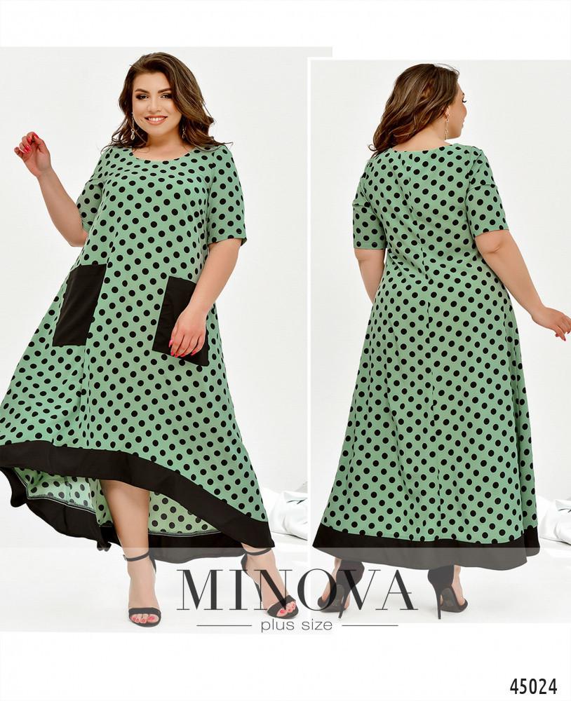 Сукня №438Б-м'ята перцева/50-52