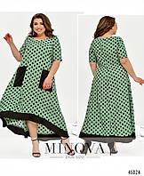 Сукня №438Б-м'ята перцева/50-52, фото 1