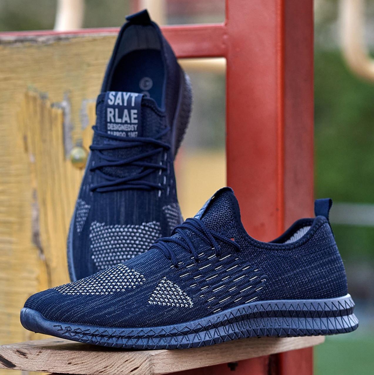 Чоловічі кросівки літні сині (Нс-944с)
