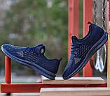 Мужские кроссовки летние синие (Нс-944с), фото 3