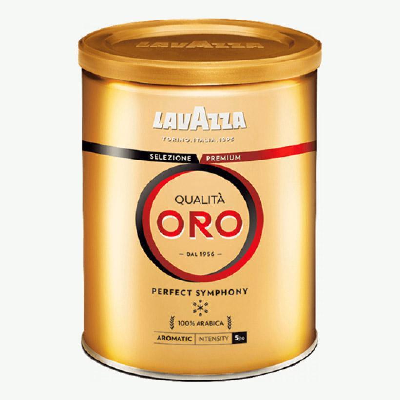 Молотый кофе Lavazza Qualita Oro ж/б 250г.
