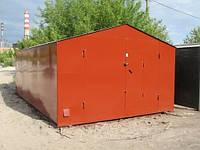 Оформление металлического гаража