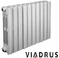 Чугунные радиаторы Viadrus (Чехия) 500/95. Чавунні радіатори опалення. Батареи отопления.