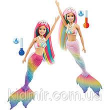 Лялька Барбі Русалонька міняє колір Barbie Dreamtopia Mermaid GTF89