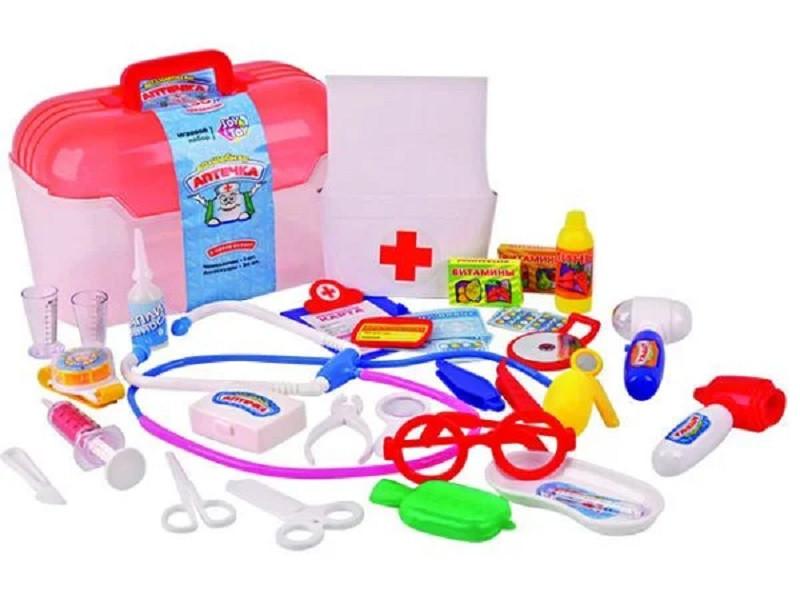 Детский докторский набор в чемодане Волшебная аптечка арт.2552, 2553