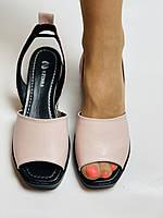 Y. FERRA. Турецькі босоніжки на низькій платформі.Натуральна шкіра Розмір 36 37 38 39 40, фото 4