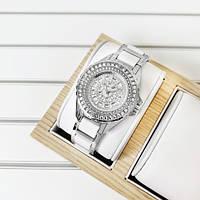 Часы женские Bee Sister 1490 Silver-White Diamonds