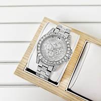 Женские часы Bee Sister 1158 All Silver Diamonds