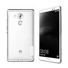 Чехол накладка силиконовый Nillkin Nature для Huawei Mate 8 серый