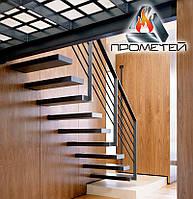 Лестница с черного металла заказать от производителя