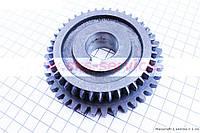 Шестерня КПП вторичного вала Z=39x40 на мотоблок с двигателем 178F-186F