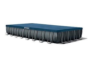 Каркасный прямоугольный бассейн Intex Ultra Frame 975x488x132 см 28376 с фильтром, Большой для всей семьи, фото 2