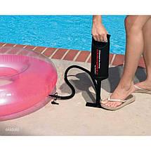 Насос ручной INTEX 68612 (0.9 л) воздушный, интекс для бассейнов, лодок и матраса, фото 2
