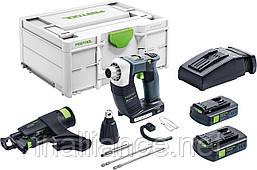 Аккумуляторный строительный шуруповёрт DURADRIVE DWC 18-4500 C 3,1-Plus Festool 576505