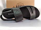 Комфортные чёрные кожаные сандалии Rondo, фото 9