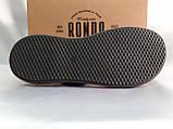 Комфортные чёрные кожаные сандалии Rondo, фото 10