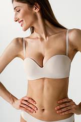 Бюстгальтер жіночий анжеліка без кісток, перлинний. ТМ Luna. Іспанія.  75B, 75С. 80B