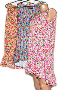 Модне плаття з воланом внизу (M,L)