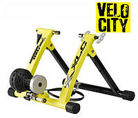 Велотренажер для дома XLC желтый Gamma 6 CT-R04