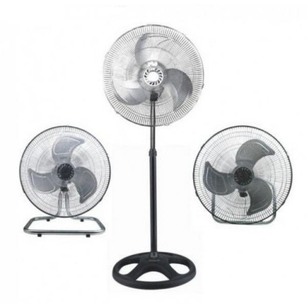 Универсальный вентилятор Rаinberg RB-1801 3в1 трансформер (напольный, настенный, настольный)