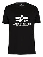 Мужская футболка Alpha Industries Basic T-Shirt (black)