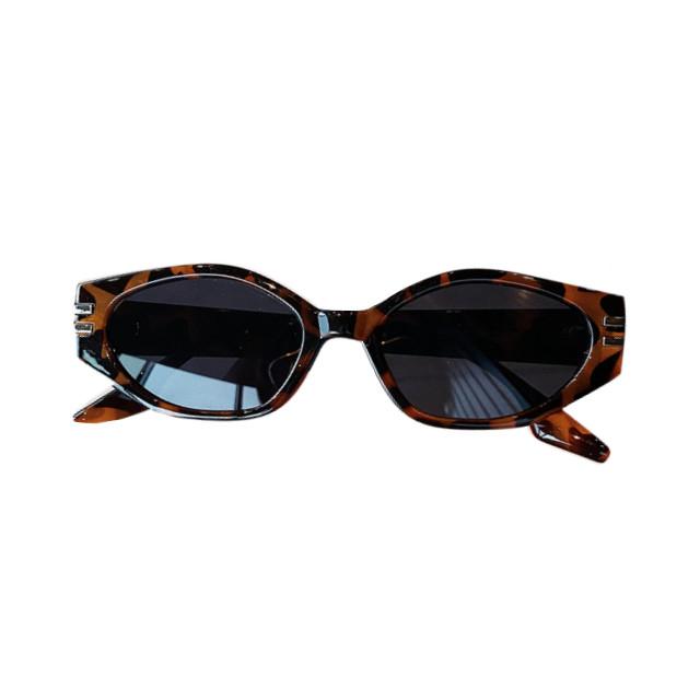 Сонцезахисні окуляри жіночі леопардові 0985
