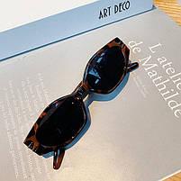 Сонцезахисні окуляри жіночі леопардові 0985, фото 2