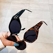 Сонцезахисні окуляри жіночі леопардові 0985, фото 4