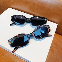 Сонцезахисні окуляри жіночі чорні 0984, фото 4